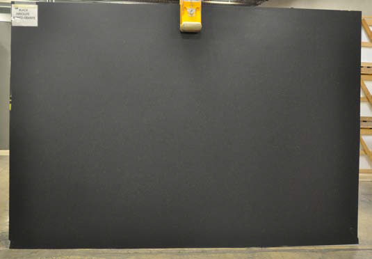 Black Absolute Honed Granite slab