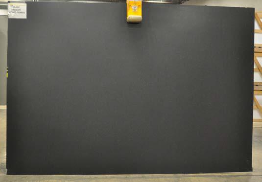 Black Absolute Honed Granite slab