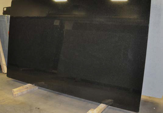 Black Absolute Polished Granite slab