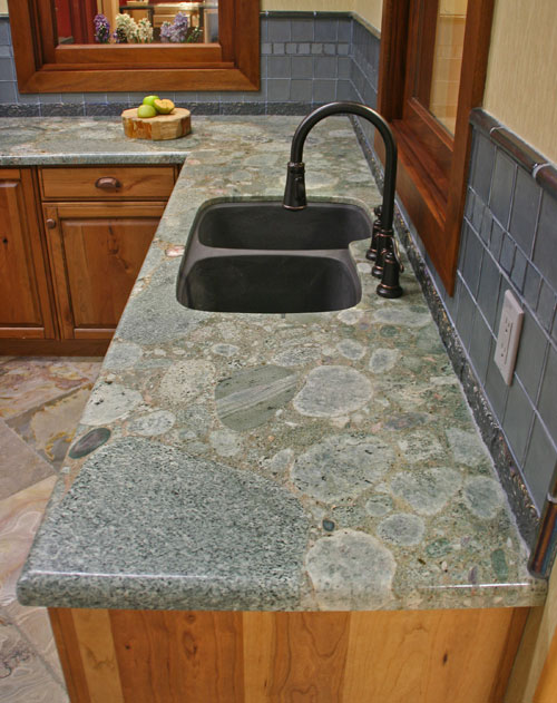 Green Marinace Granite Countertops