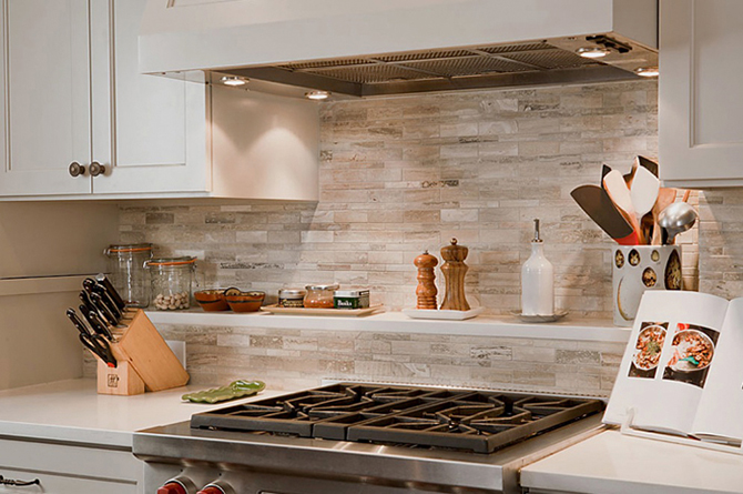 Kitchen Stone Backsplash