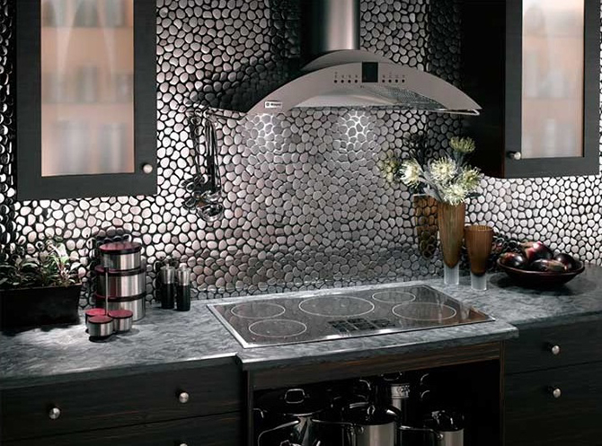 Metal Backsplash