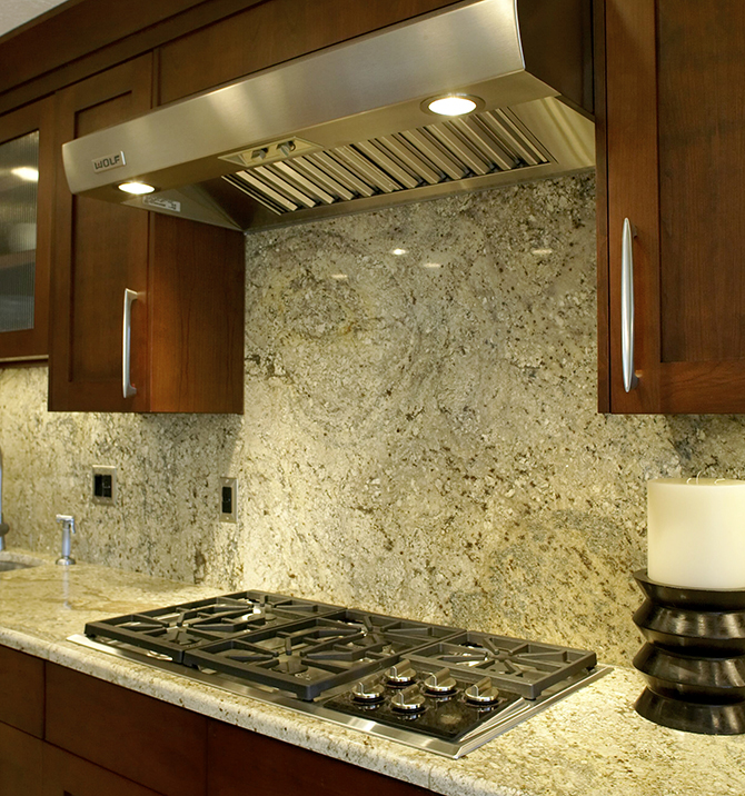 The Kitchen Backsplash Combine Art With Functionality