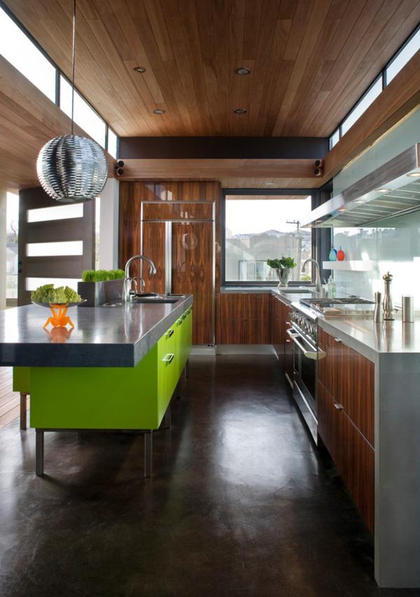 Colorful Kitchen Design