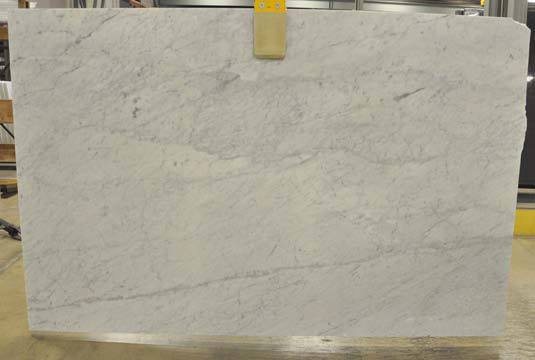 white marble polished
