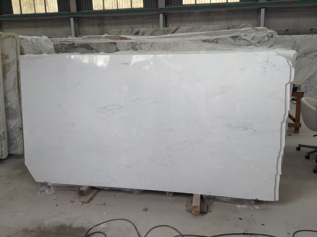 Calacata marble slab