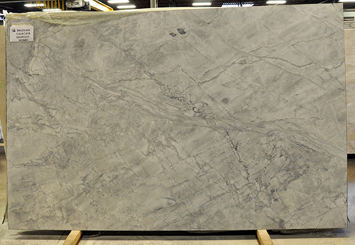quartzite - brazilian calacata honed