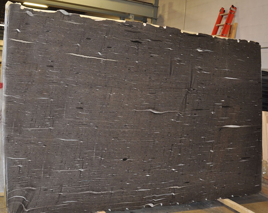 Brown Silk Granite Slab