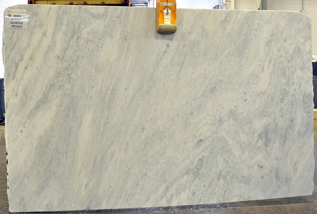 quartzite white princess brushed
