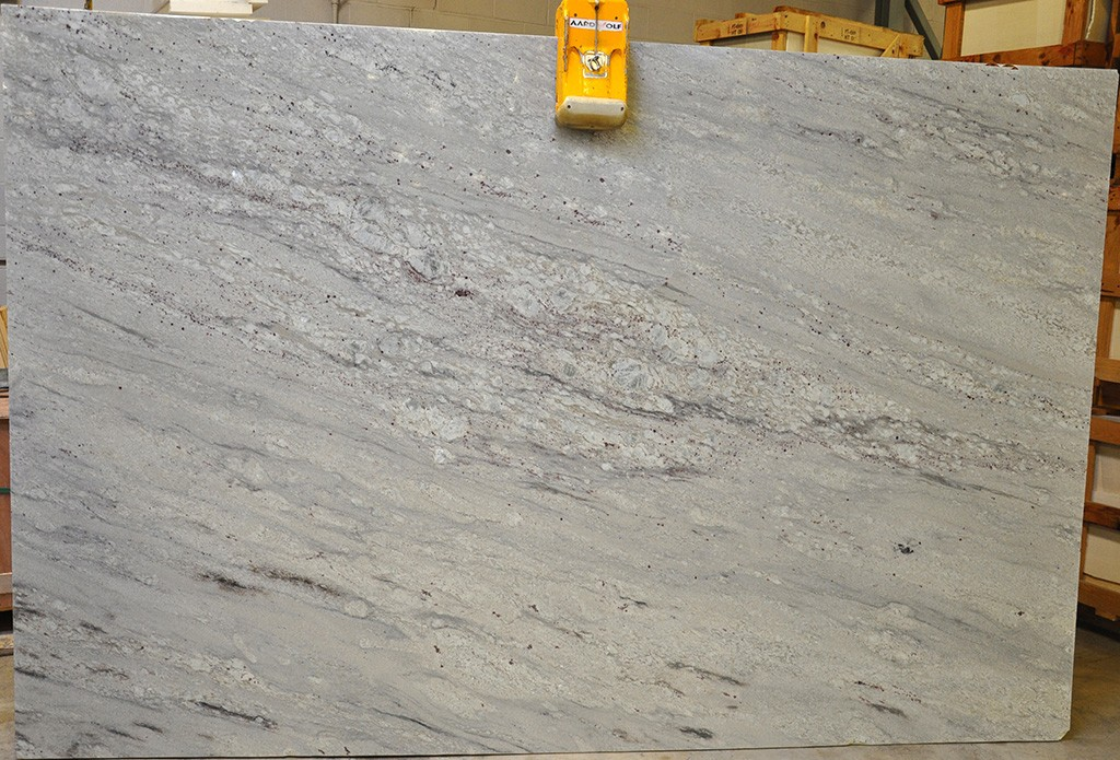 Bianco Nuvolato Granite slabs