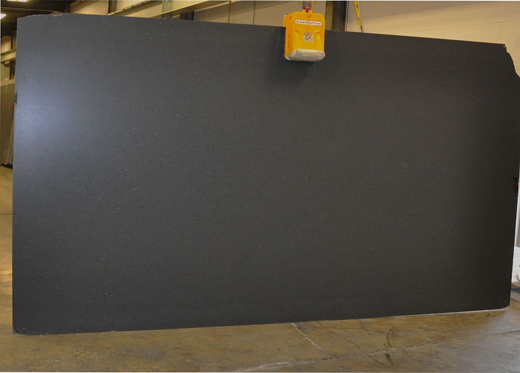 Black Absolute Honed Granite slabs