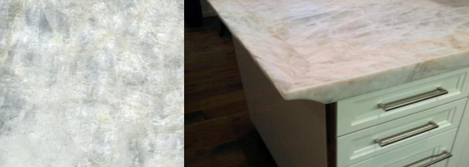 Iceberg Quartzite countertops