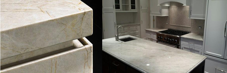 White Quartzite Countertops Versus Granite Countertops