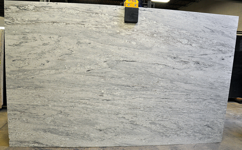 bianco nuvolato brushed granite