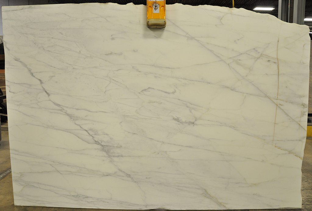 calacata gold honed marble slab