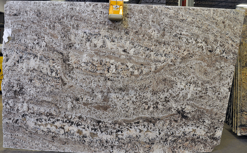 taupe granite slab