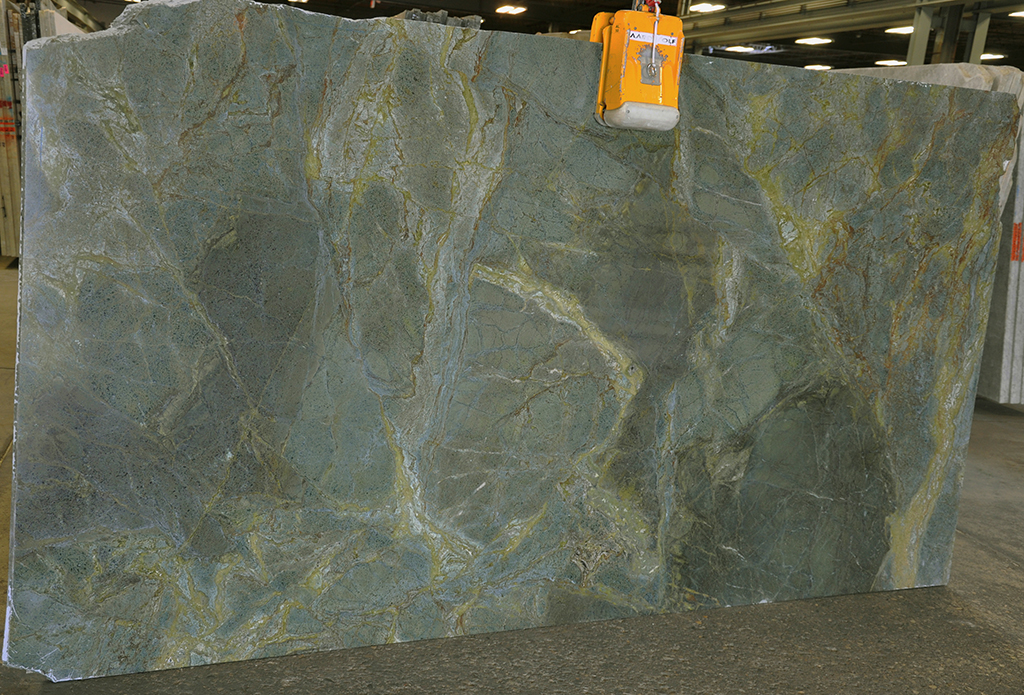 Golden Lightening Quartzite slab