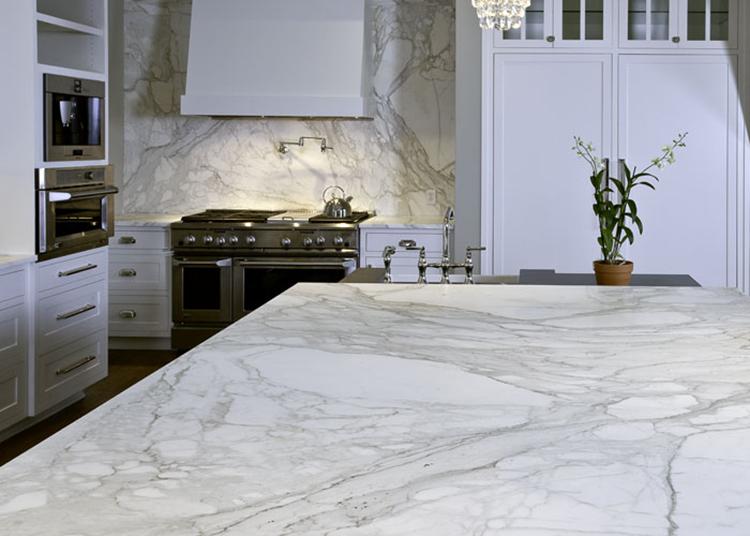 calacata gold marble countertop