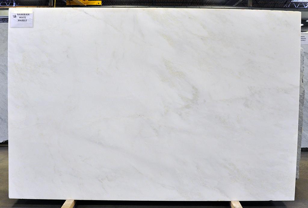 Marble slab - Namibian White