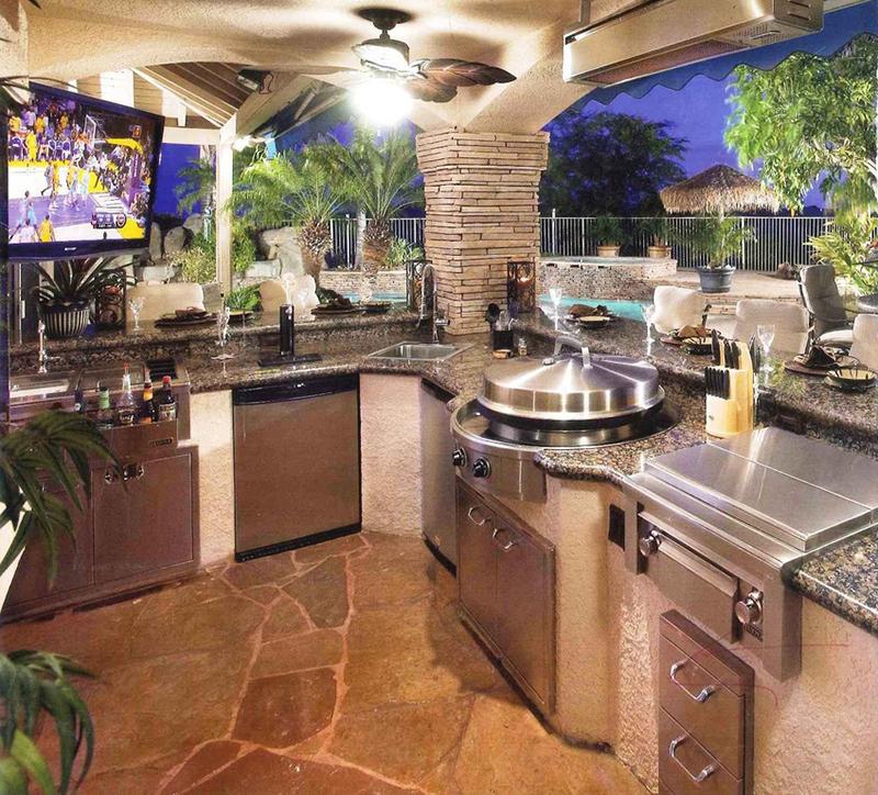 granite countertop - outdoor
