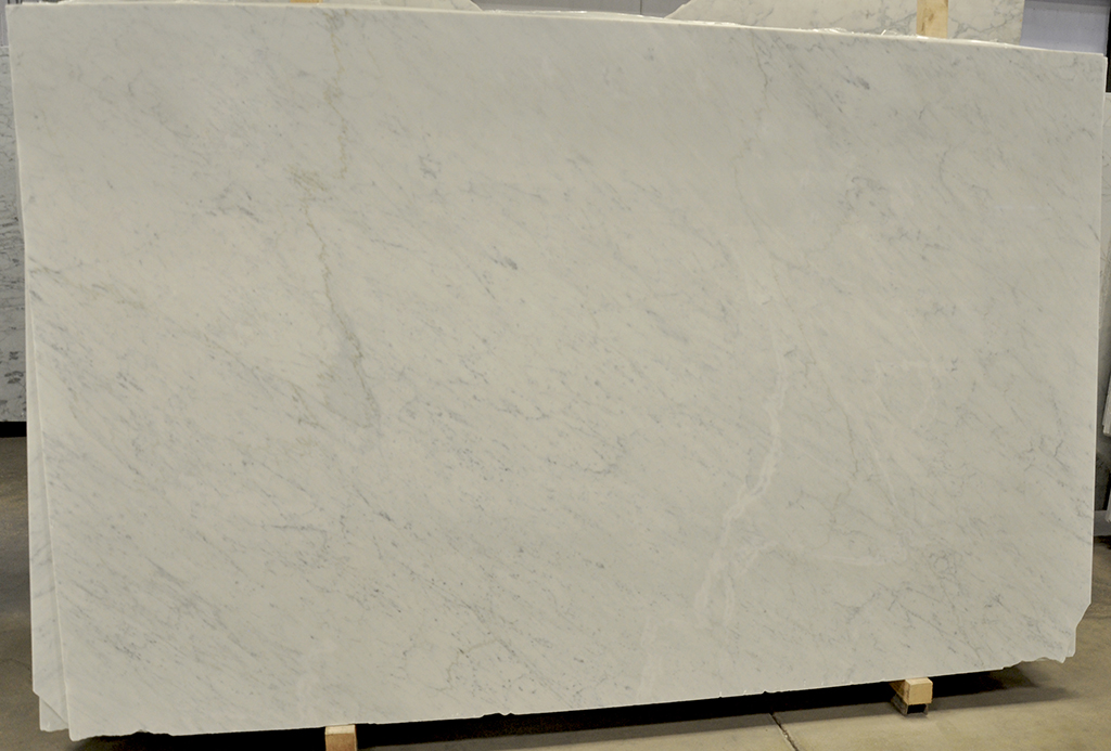 white carrara polished marble