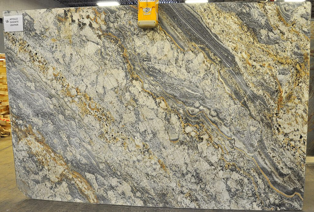 apollo leather granite slab