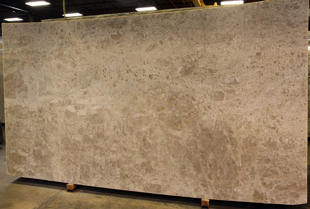 quartzite slab - emperador leather