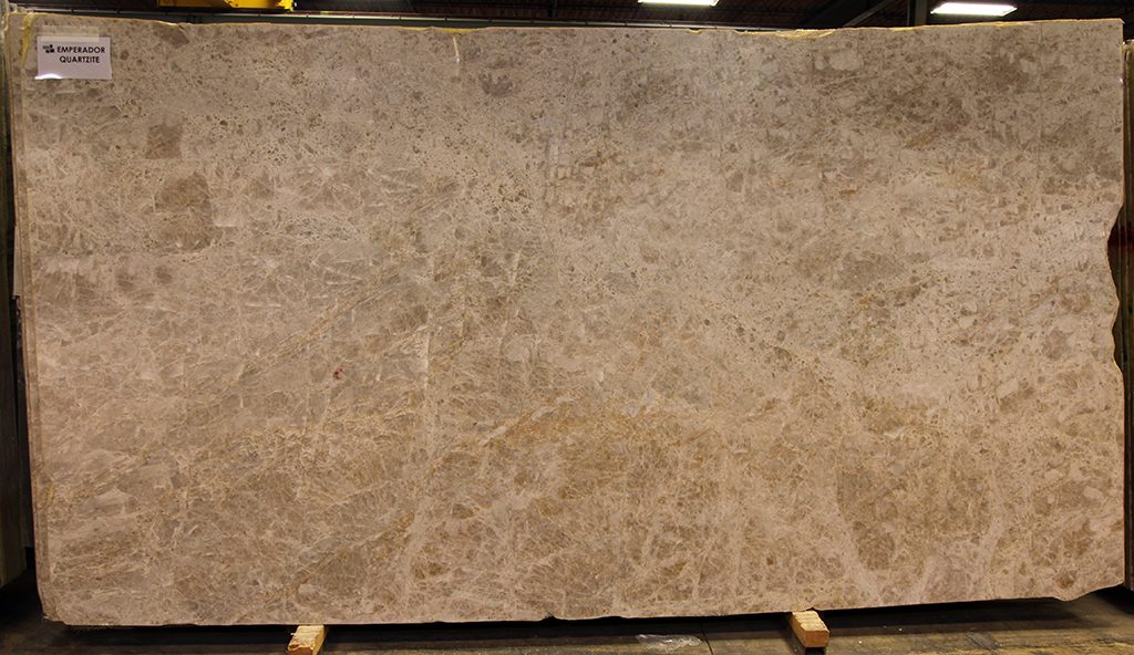 quartzite slab - emperador polished