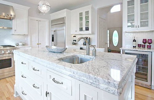 All-white kitchens tend to have a timeless quality and are almost able to  camouflage their age. Since it is such a universal color, white is  appropriate for ...