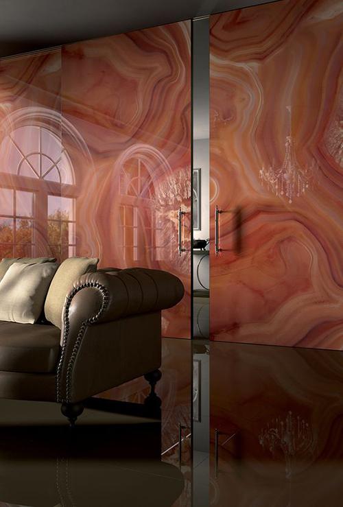 Stone Wall - Living Room