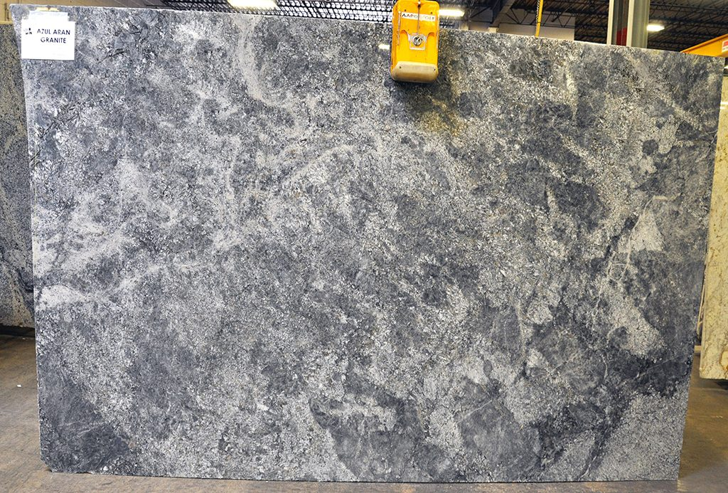 azul azran granite slab