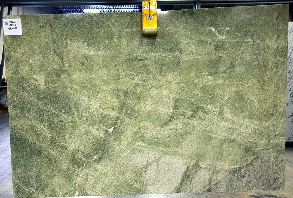Coast Green Granite slabs
