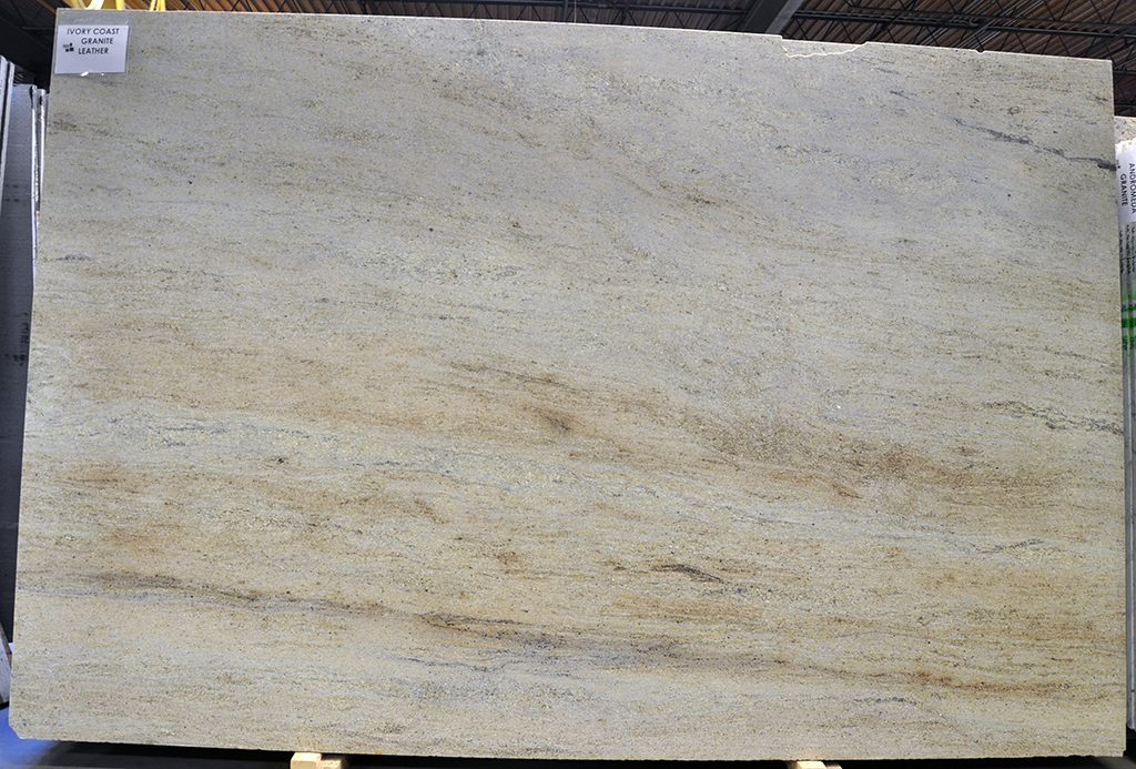 Ivory Coast Granite slab leather