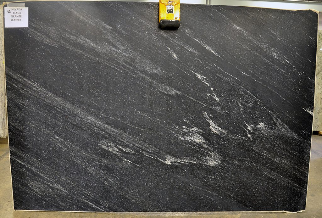 Nevada Black Granite slabs