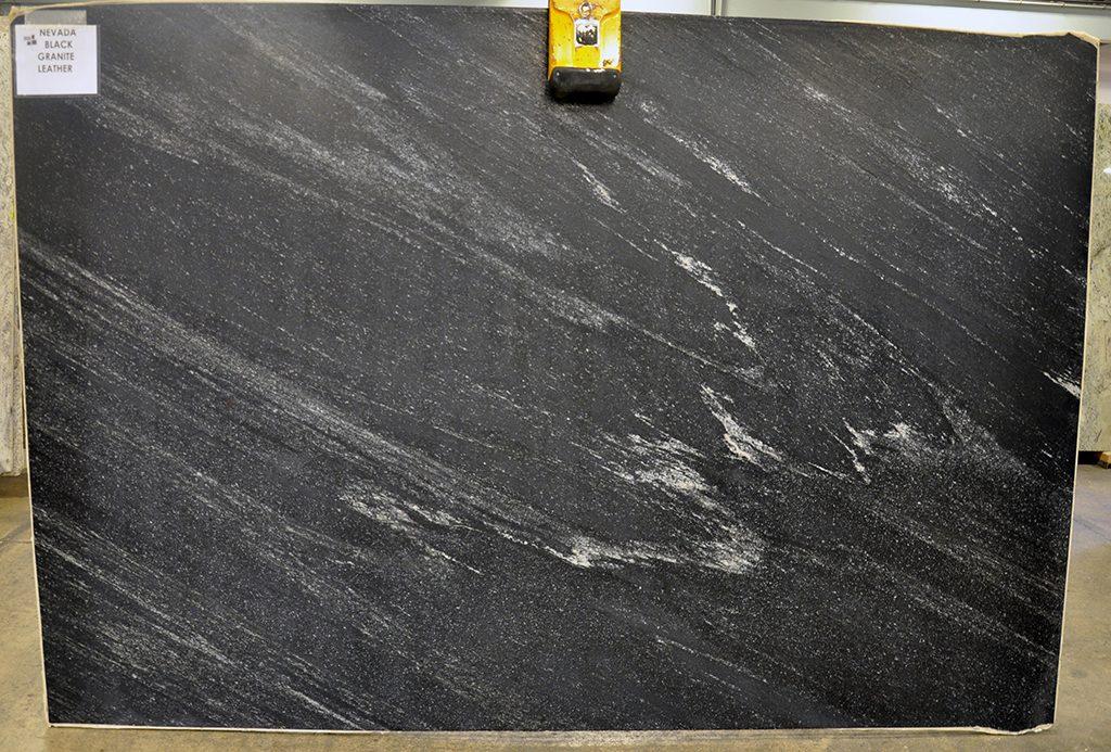 Nevada Black Granite slabs