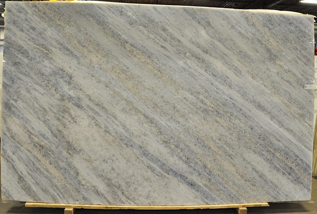 Crystal Blue Marble slab
