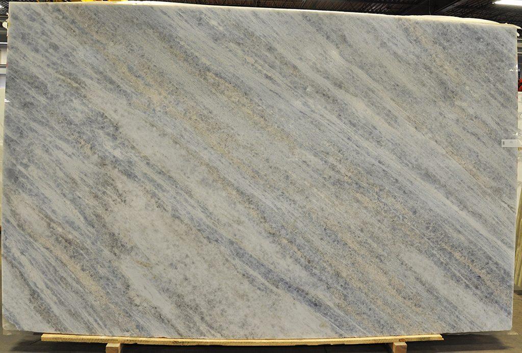Crystal Blue Marble slab