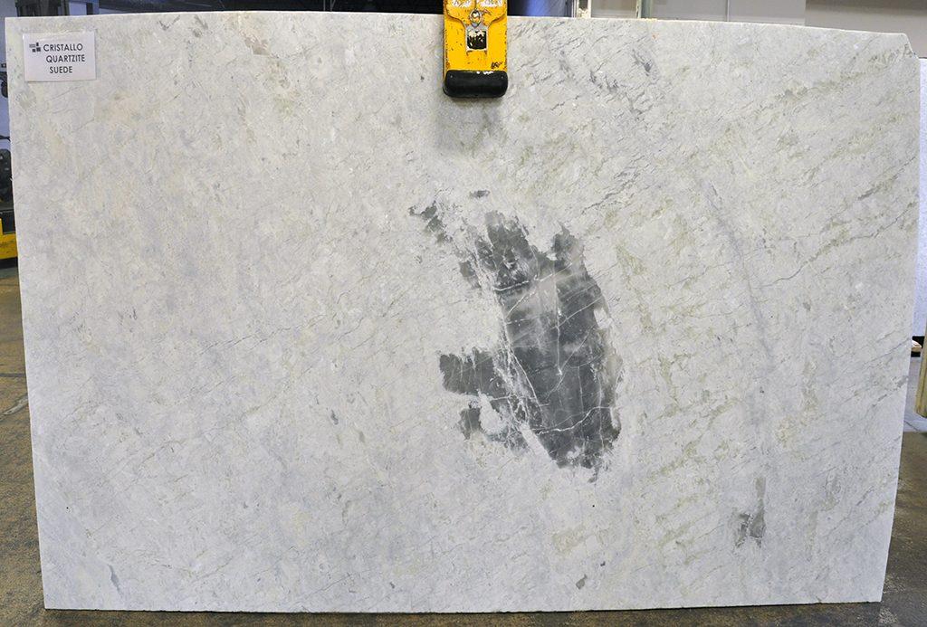 Cristallo Suede Quartzite slabs