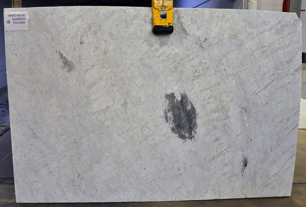 White Velvet Quartzite slab
