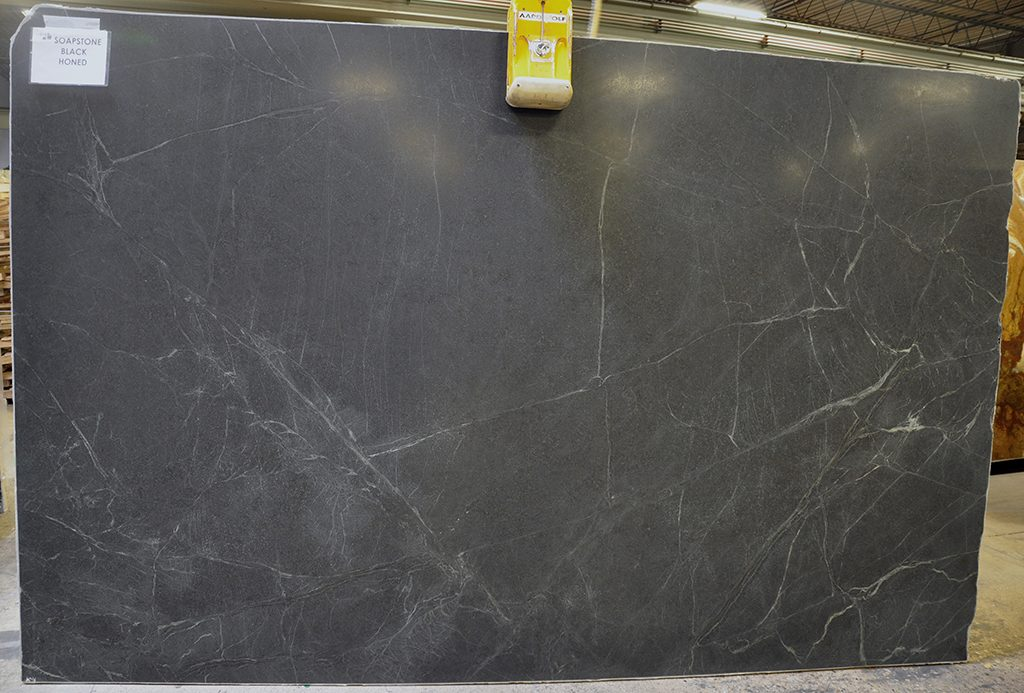 Black Soapstone slabs