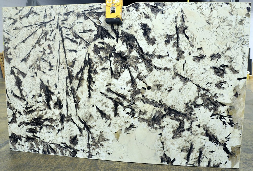 Alpine White Granite slabs