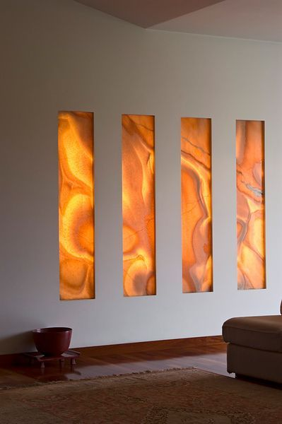 onyx accent wall