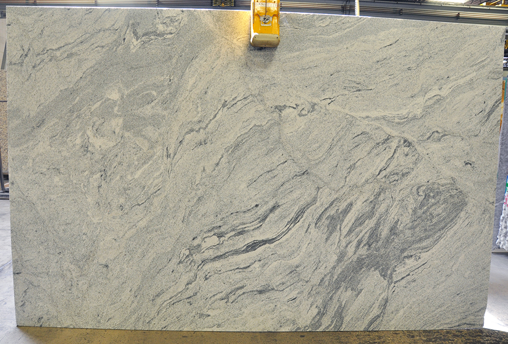 silver cloud granite leather