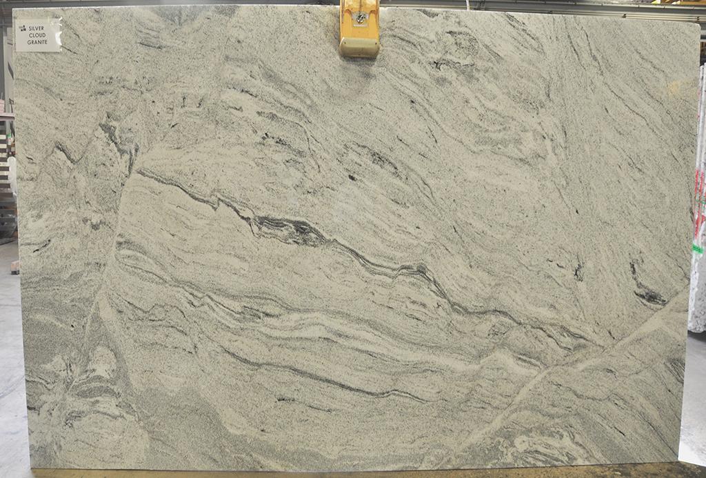 Granite Silver Cloud polished