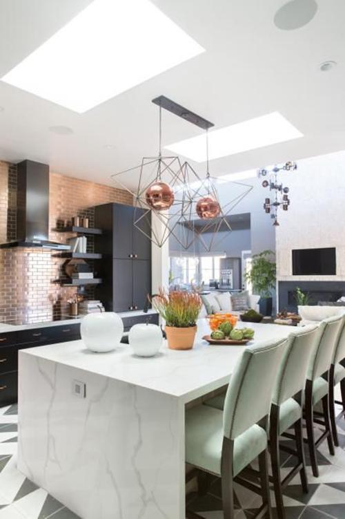 Borghini Quartz - contemporary kitchen
