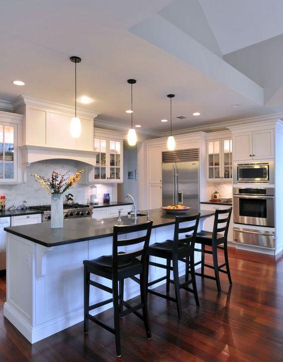 contemporary kitchen - orion granite honed