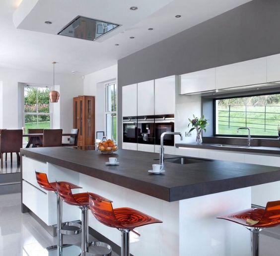 contemporary kitchen - ossido nero