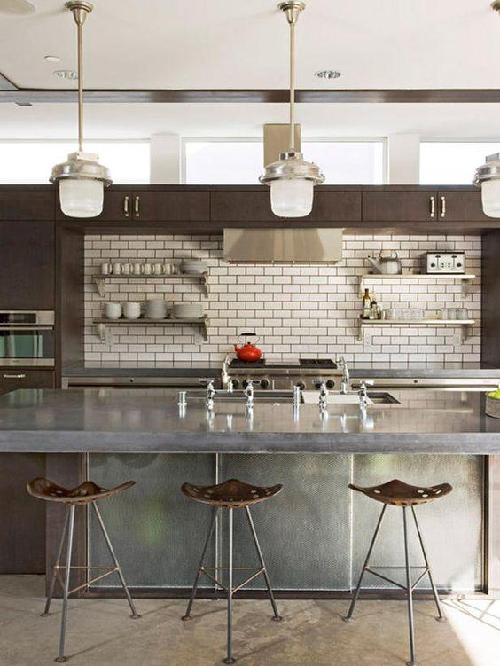 Pietra Di Savoia Antracite Porcelain - contemporary kitchen