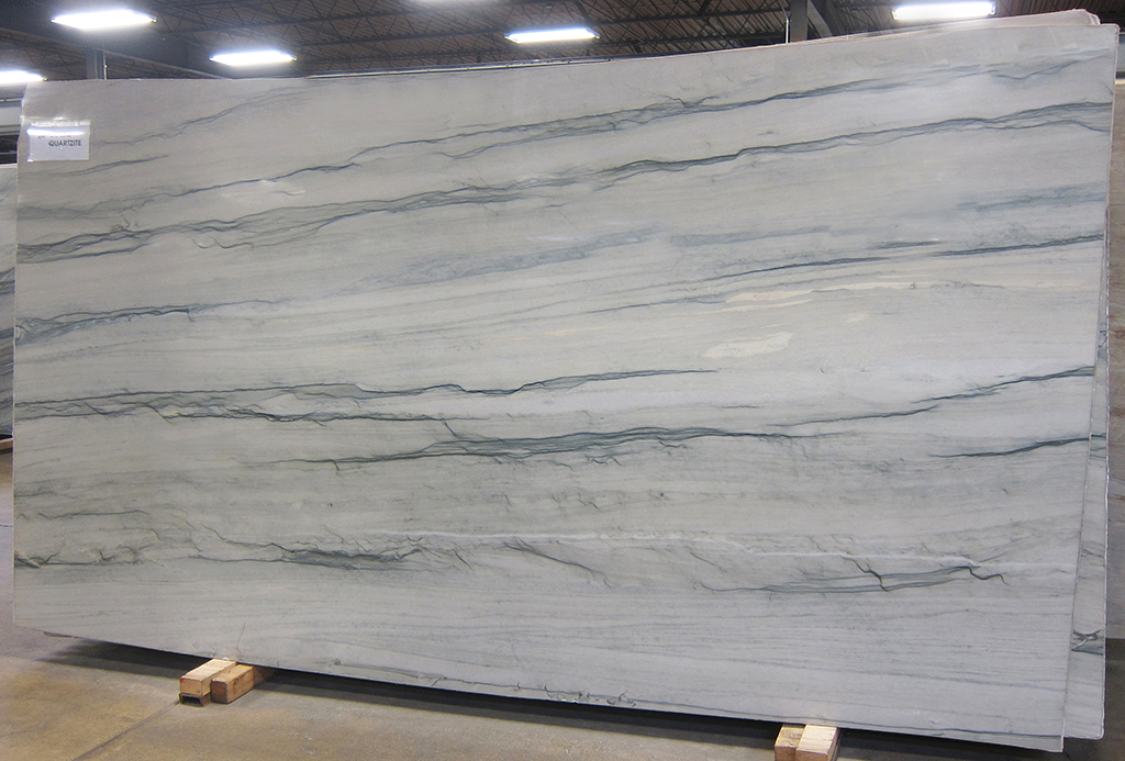 soleil polished quartzite slab