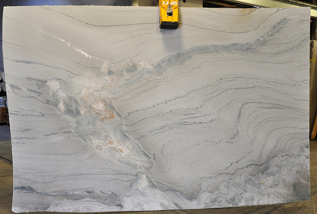 Aquarius quartzite slab leather